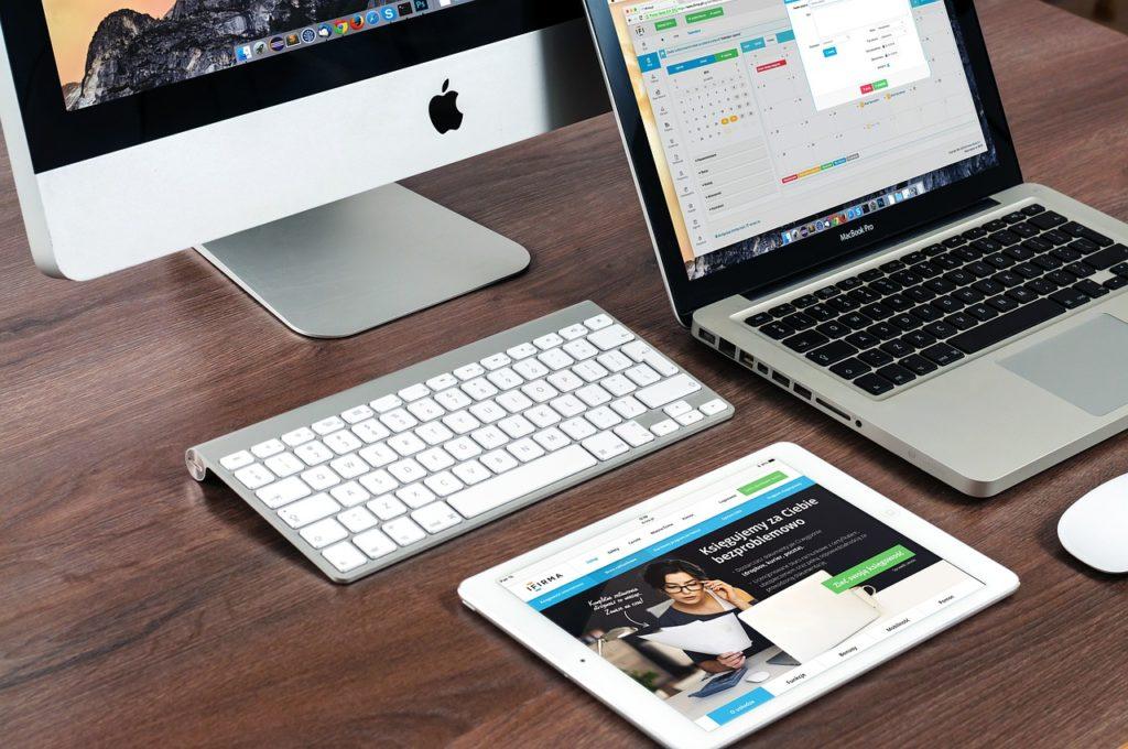 webseiten auf verschiedenen endgeräten