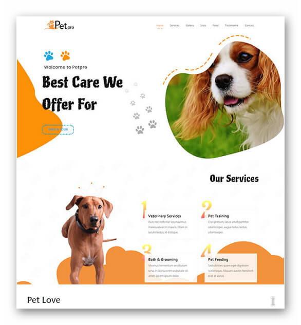 Neue Webseite Hunde Salon