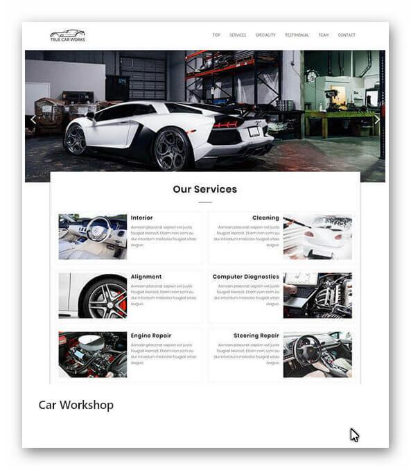 Neue Webseite Auto Service